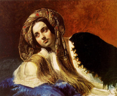 Karl Bryullov - A Turkish Girl