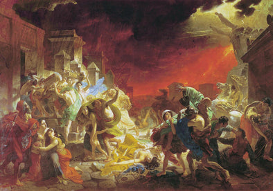 Karl Bryullov - The Last Day of Pompeii