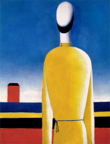 Kazimir Malevich - A Bad Feeling