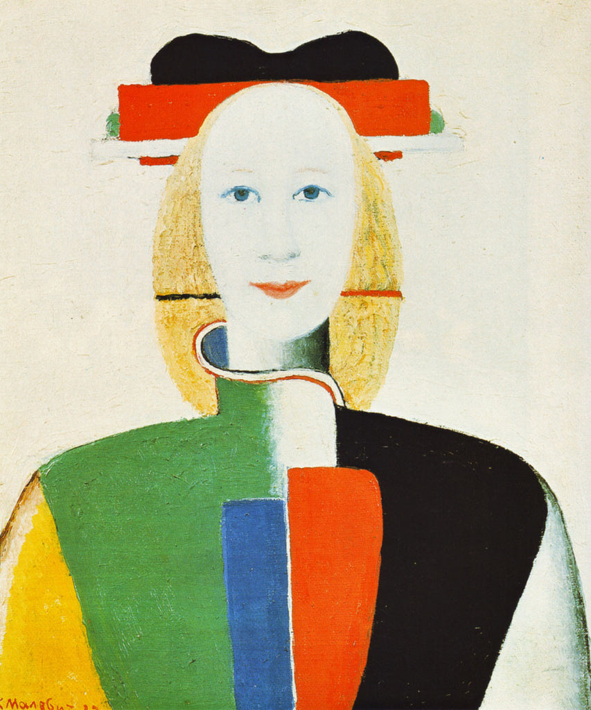 Kazimir Malevich - Girl with Comb in her Hair