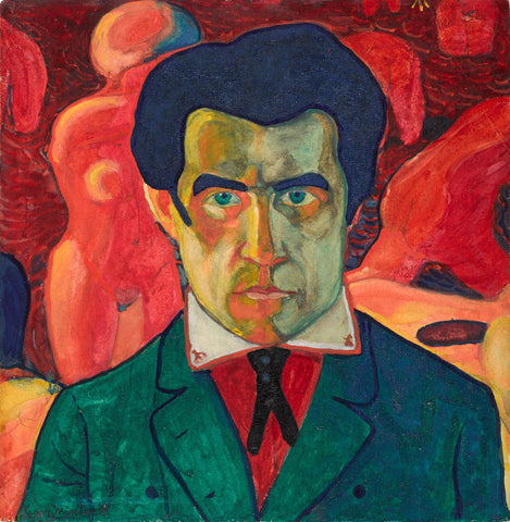 Kazimir Malevich - Self Portrait