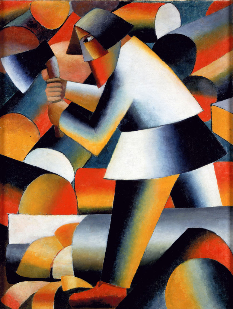 Kazimir Malevich - The Woodcutter