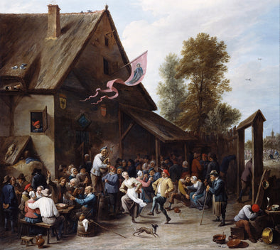 David Teniers the Younger - Kermis on St George's Day