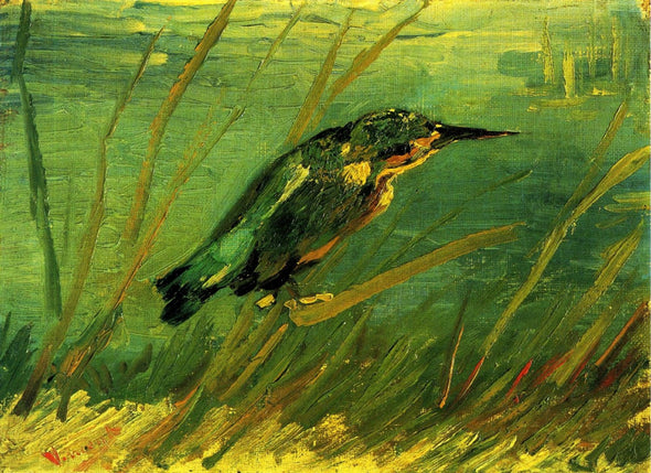 Vincent van Gogh - The Kingfisher