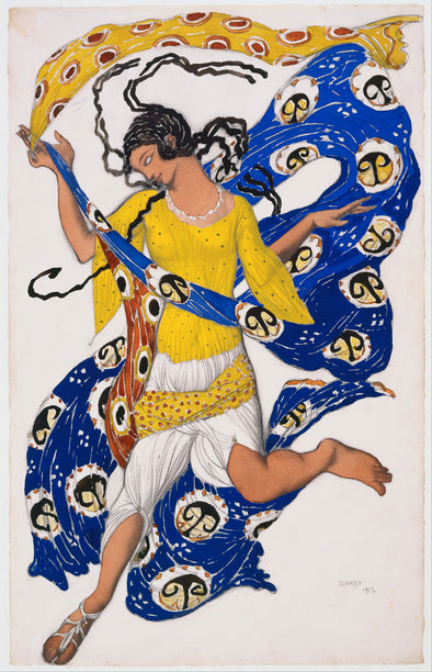 Léon Bakst - The Butterfly (Costume Design for Anna Pavlova)