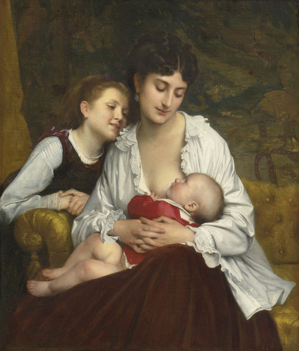 Leon Jean Basile Perrault - Motherly Love