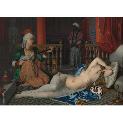 Leopoldo Schmutzler - Odalisque with the Slave