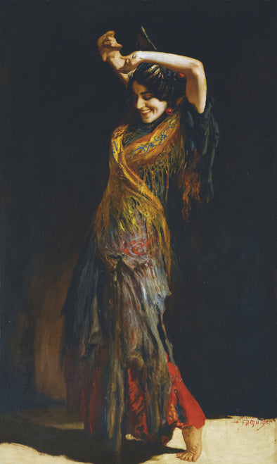 Leopoldo Schmutzler - The-Flamenco-Dancer
