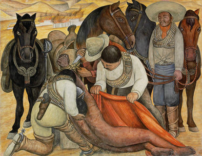 Diego Rivera - Liberation of the Peon