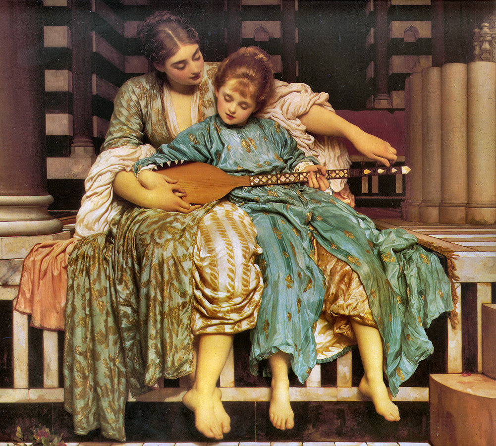 Lord Frederick Leighton - Music Lesson