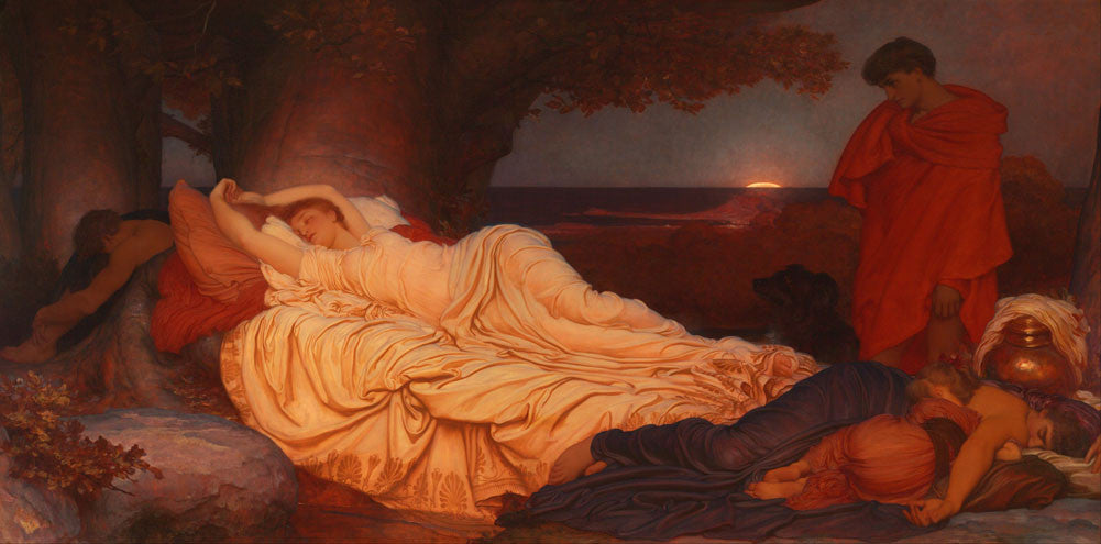 Lord Frederick Leighton - Cymon and Iphigenia
