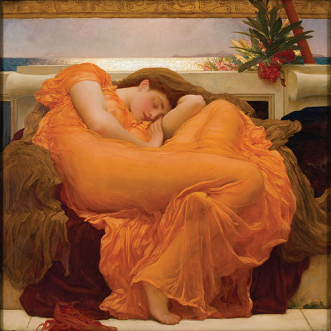 Lord Frederick Leighton - Flaming