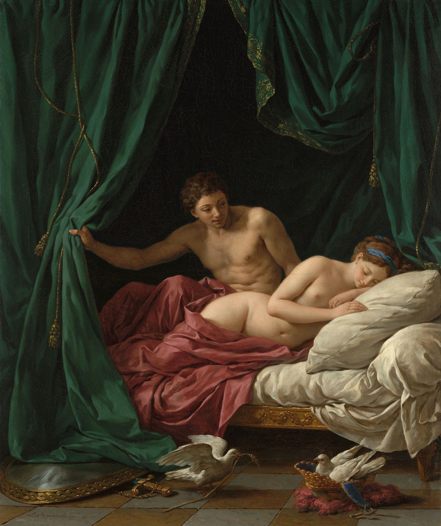 Louis Jean Francois Lagrenee - Mars and Venus, Allegory of Peace