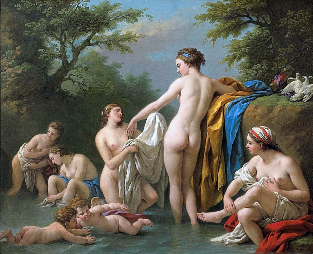 Louis Jean Francois Lagrenee - Venus and Nymphs Bathing