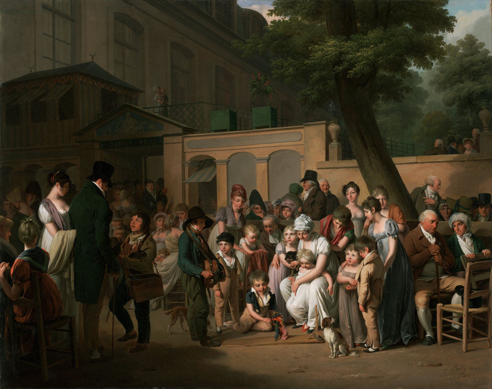 Louis-Leopold Boilly - Entrance to the Jardin Turc