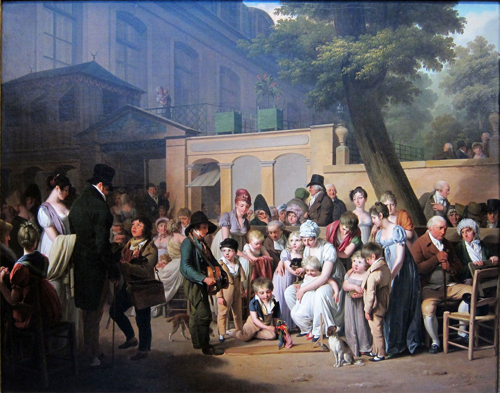 Louis-Leopold Boilly - The Garden