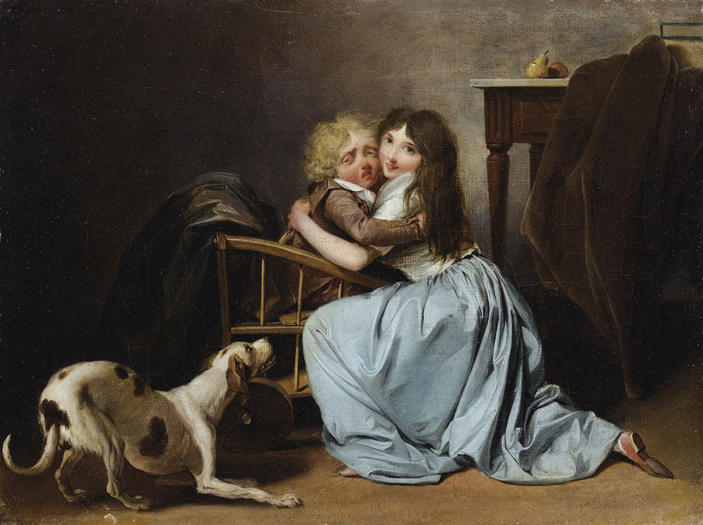 Louis-Leopold Boilly - The Unfounded Fear