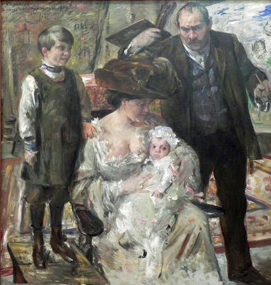 Lovis Corinth - The Artist and His Family