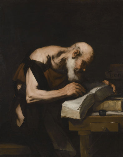 Luca Giordano - A Philosopher Writing