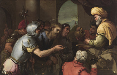 Luca Giordano - Pilate Washing his Hands