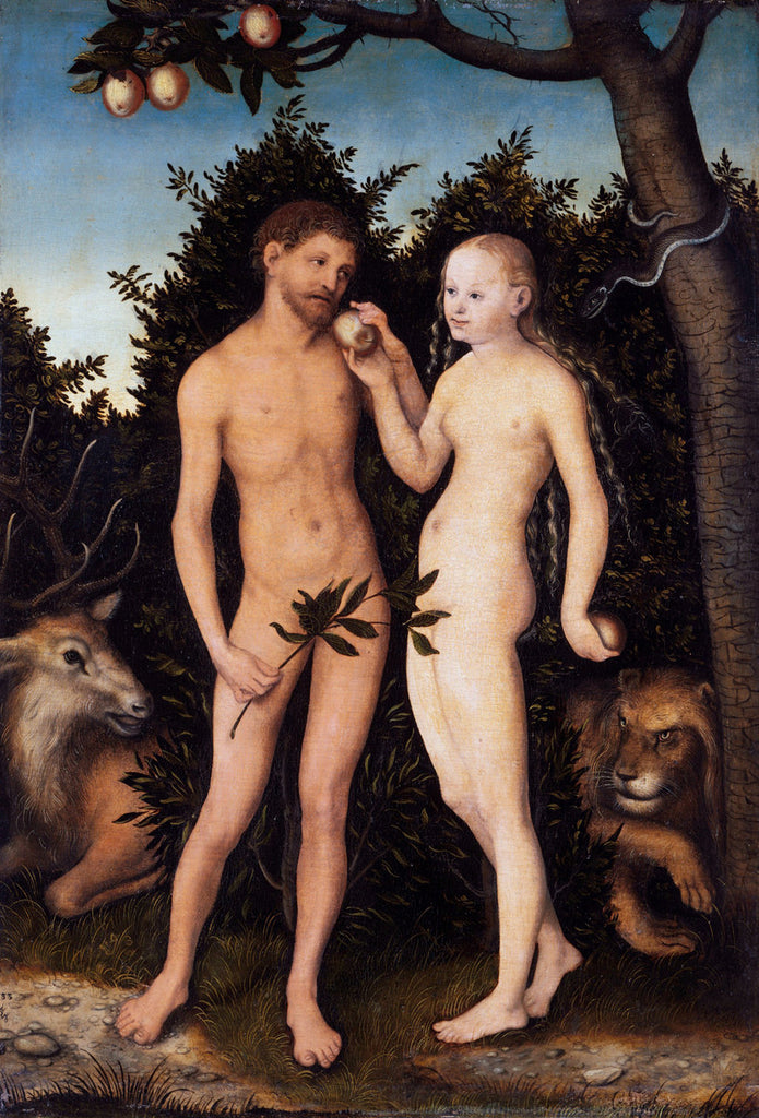 Lucas Cranach the Elder - Adam and Eve in paradise (The Fall)