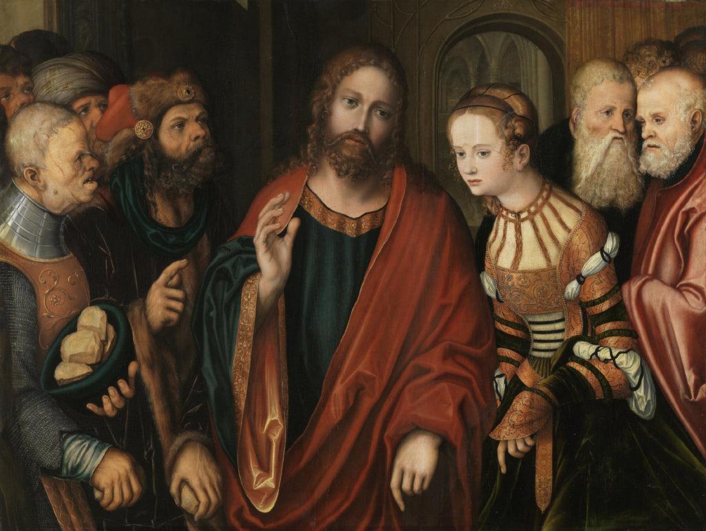 Lucas Cranach the Elder - Christ and the Adulteress
