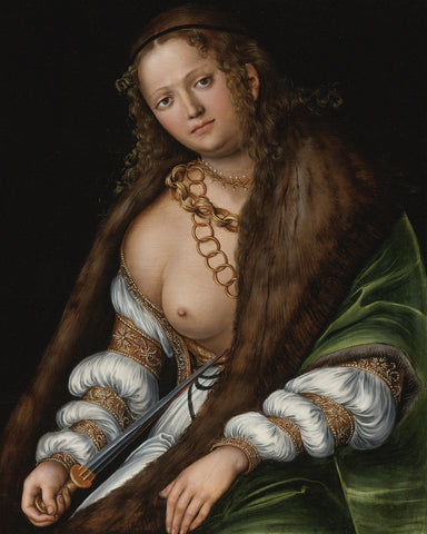 Lucas Cranach the Elder - Lucretia