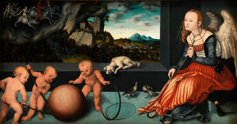 Lucas Cranach the Elder - Melancholy