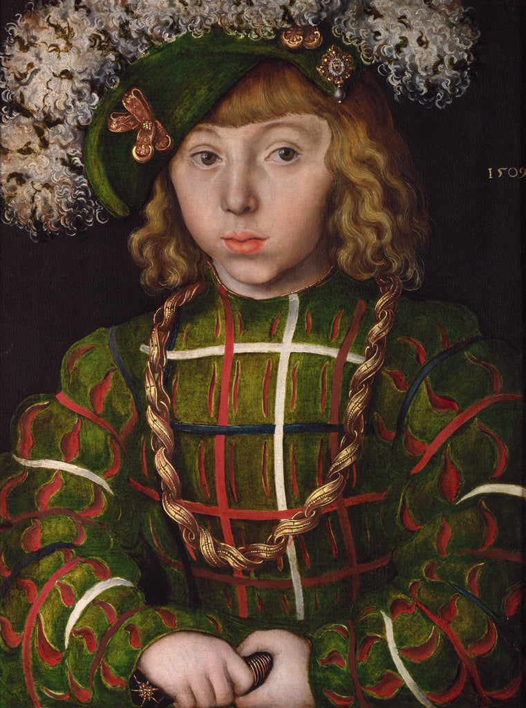 Lucas Cranach the Elder - Portrait of Johann Friedrich the Magnanimous