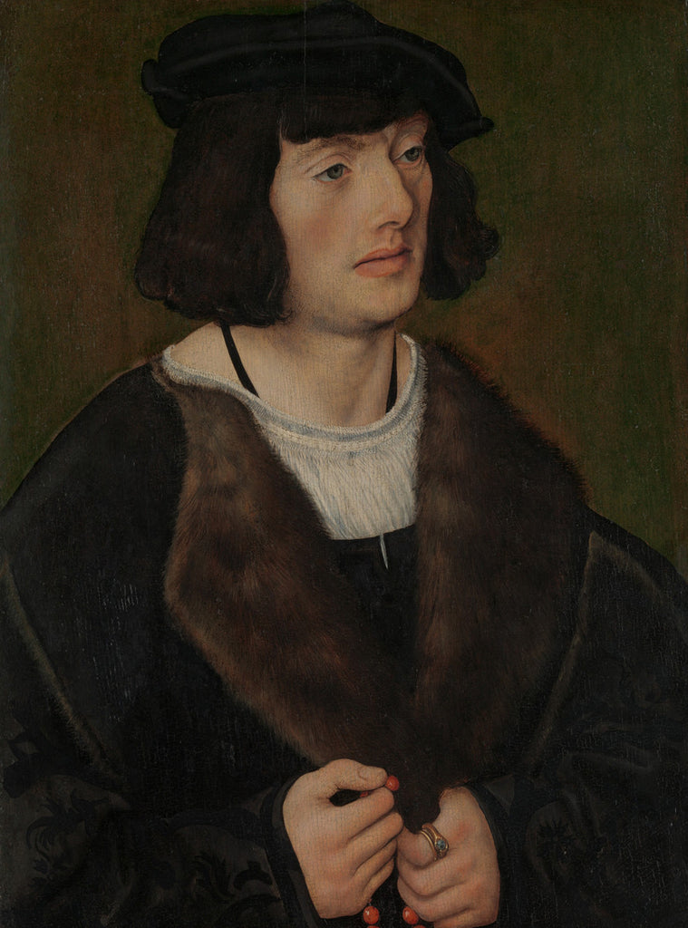 Lucas Cranach the Elder - Portrait of a Man with a Rosary