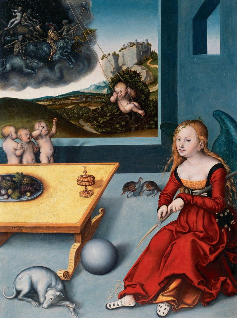 Lucas Cranach the Elder - The Melancholy