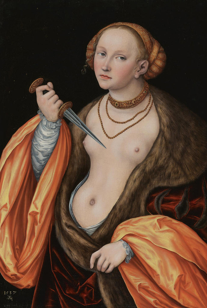Lucas Cranach the Elder - The Younger Lucretia