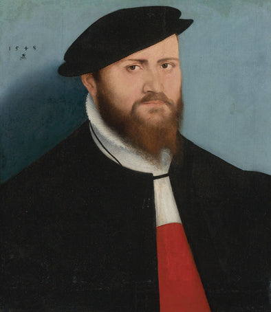 Lucas Cranach the Younger - Portrait of a Man In a Hat