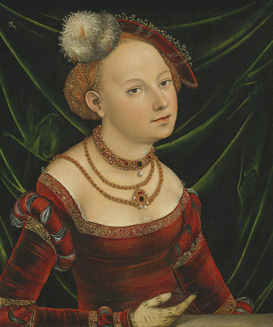 Lucas Cranach the Younger - Portrait of a Woman