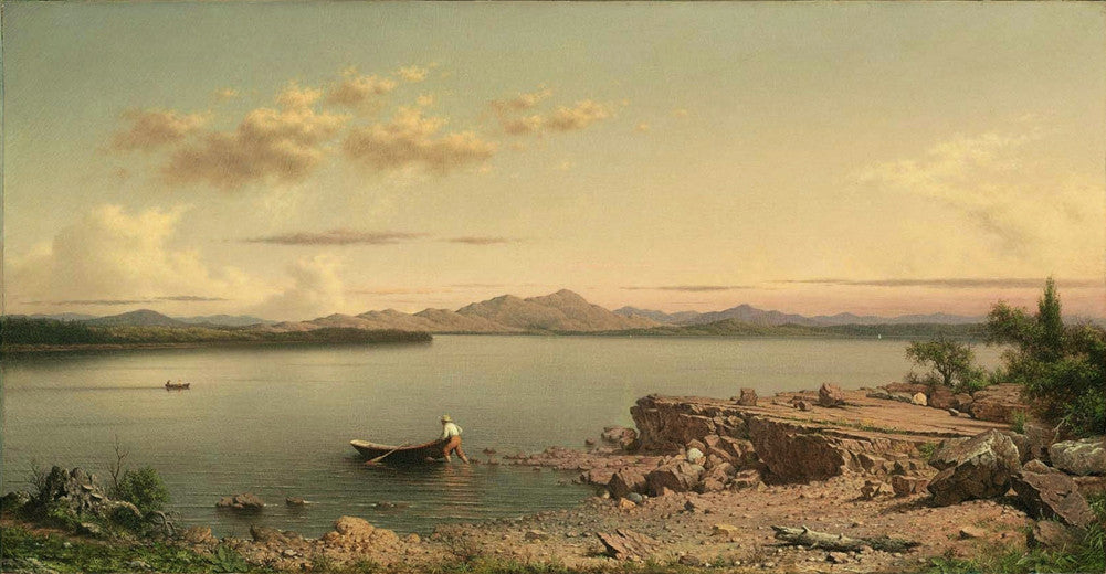 Martin Johnson Heade - Lake George