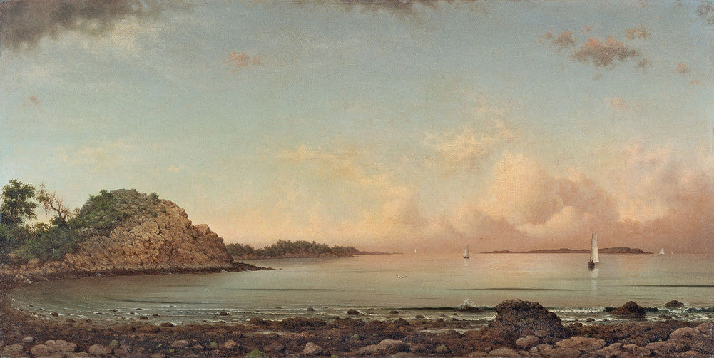 Martin Johnson Heade - Singing Beach, Manchester, Massachusetts