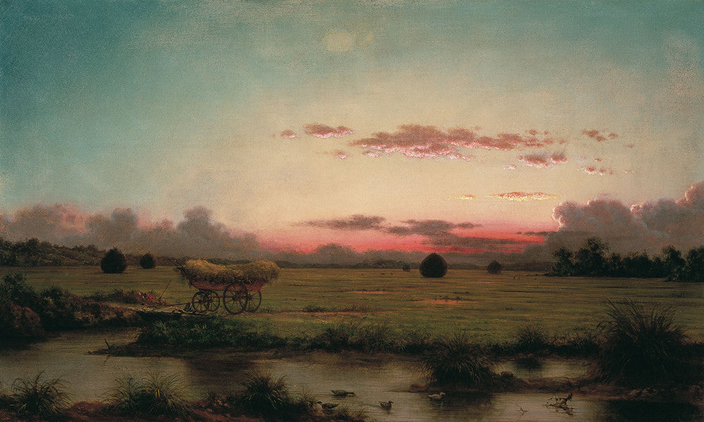 Martin Johnson Heade - The Marshes at Rhode Island
