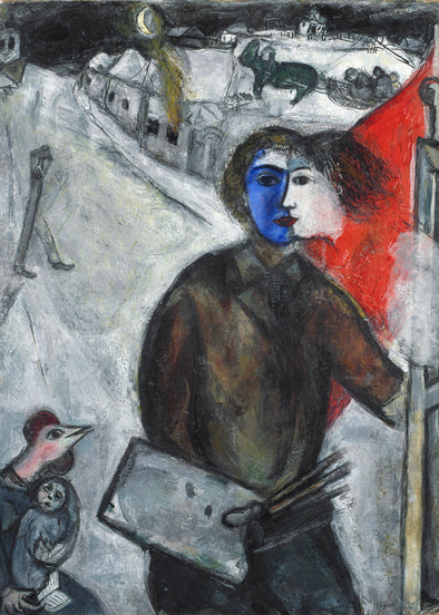 Marc Chagall - Between Darkness and Light