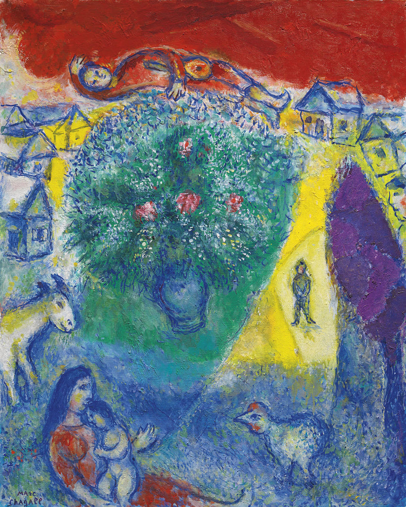 Marc Chagall - Composition