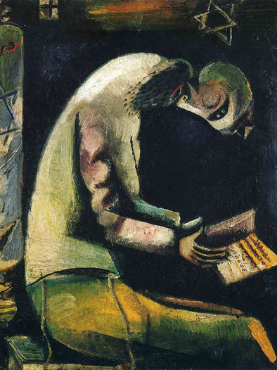 Marc Chagall - Jew at Prayer