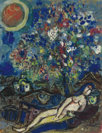 Marc Chagall - Le Bouquet D'Amour