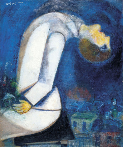 Marc Chagall - Man with his Head Thrown Back