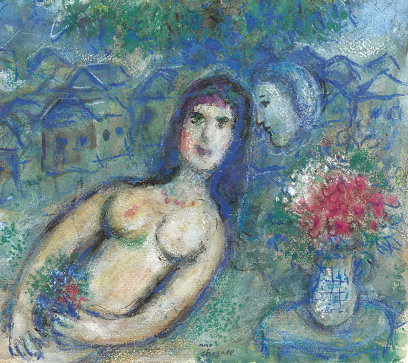 Marc Chagall - Nu Incline
