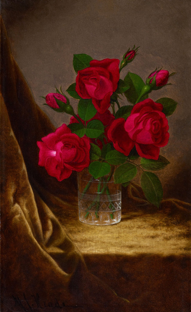 Martin Johnson Heade - Jacqueminot Roses
