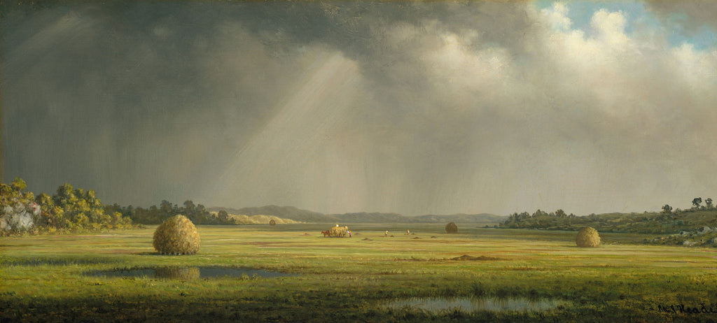 Martin Johnson Heade - Newburyport Meadows