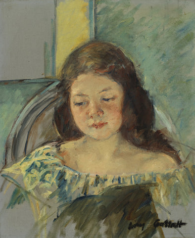 Mary Cassatt - Study for Françoise in a Round Backed