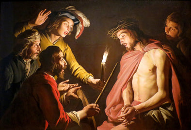 Matthias Stom - Christ Crowned with Thorns