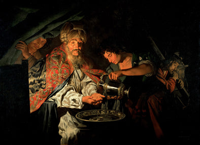 Matthias Stom - Pilate Washing His Hands
