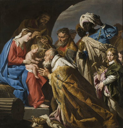 Matthias Stom - The Adoration of the Magi