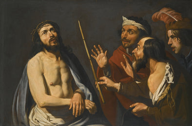 Matthias Stom - The Mocking of Christ